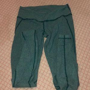 Green Lulu leggings!
